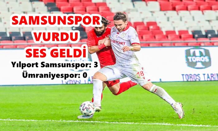 Yılport Samsunspor: 3 Ümraniyespor: 0
