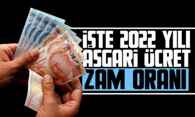İşte 2022 yılı asgari ücret zam oranı