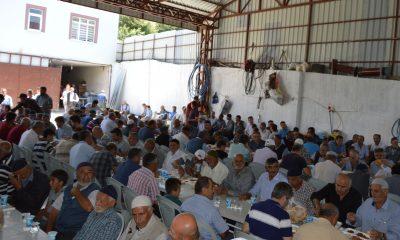 Havza'da çiftçiler hasat öncesi kurban kesti