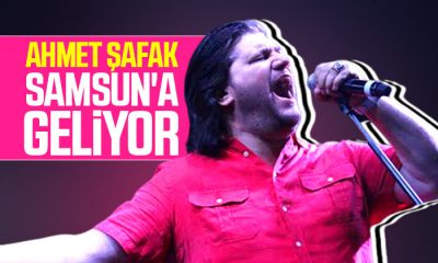 Ahmet Şafak Bafra'da konser verecek