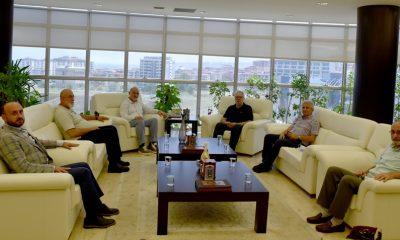AID Genel Başkanı Yurtseven, Rektör'ı Ziyaret Etti
