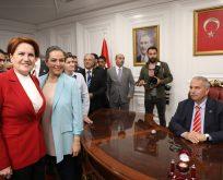Başkan Demirtaş Kılıçdaroğlu ve Akşeneri makamında ağırladı