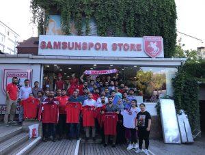 AK Parti Samsun İl Gençlik Kolları'dan Samsunspor'a destek