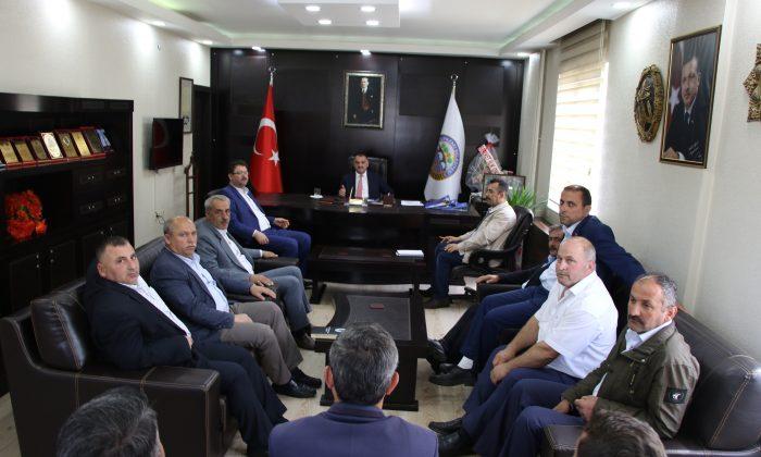 Yeni Başkandan Halil Akgül'e ziyaret