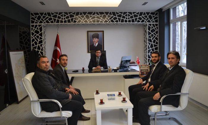 Saadet Partisi Alaçam Belediye Başkan Adayı Ahmet Yıldız'dan kurum ziyareti