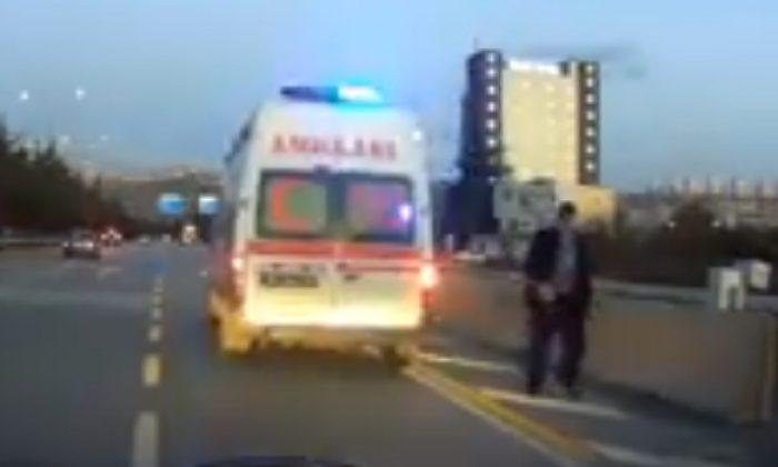 Samsun'da ambulansı yolcu minibüsü gibi kullandılar!
