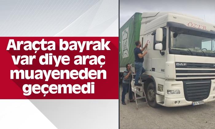 TüvTürk'te bayrak tartışması