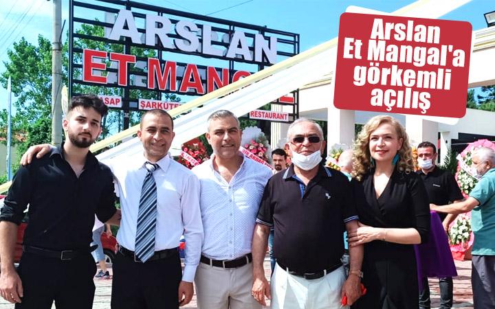 Samsun'da Arslan Et Mangal'a görkemli açılış