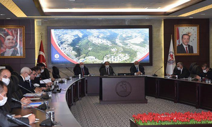 Yeni Akademik Yılın İlk Üniversite Güvenlik Koordinasyon Toplantısı