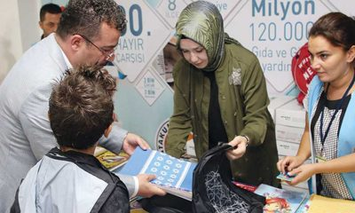 Atakum'da 5 bin öğrenciye kırtasiye yardımı