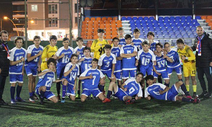Atakum U-15 Samsun şampiyonu