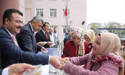 Atakum'da eğitime büyük destek