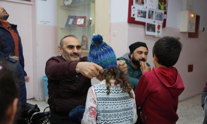 Atakum'da engelliler çocuklar için harekete geçti