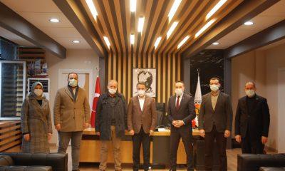 AK Parti Atakum'dan taziye ziyareti
