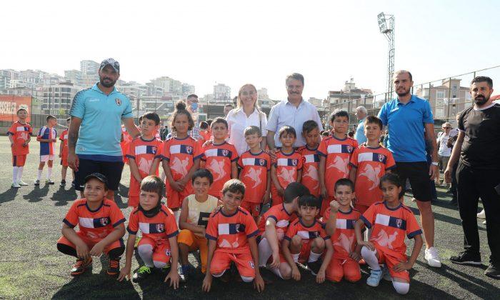 Atakum Belediyespor Yaz Spor Okulları açıldı