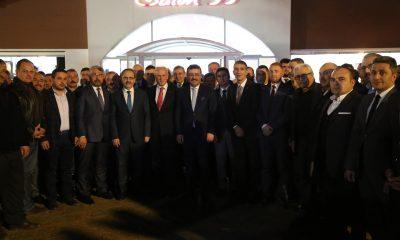 Başkan Zihni Şahin, MHP ve AK Parti ilçe teşkilatlarıyla buluştu
