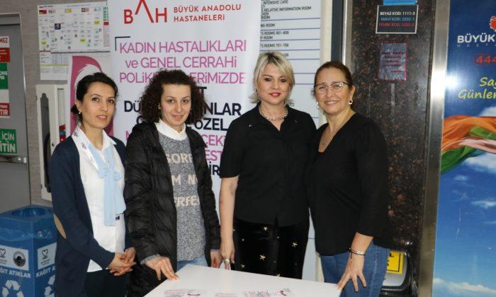 Büyük Anadolu Hastaneleri'nden 8 Mart Dünya Kadınlar Günü Etkinliği