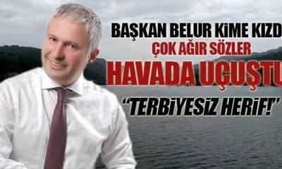 Ayvacık Belediye başkanı Mustafa Belur Fena Patladı!