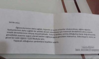 Samsun'da okulların bitmeyen bağış isteği