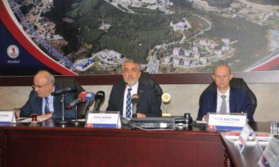 Rektör Bilgiç 3 yıl içinde OMÜ'de yapılan çalışmaları açıkladı