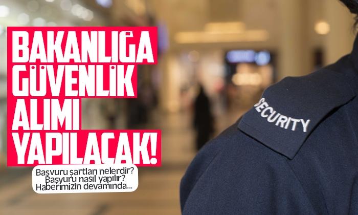 Samsun'da bakanlığa personel alımı!