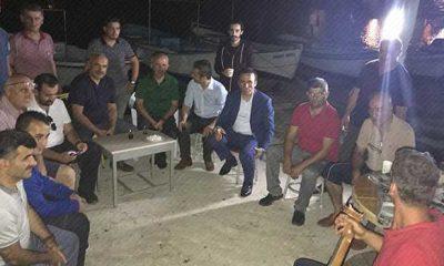 Başkan Genç Balıkçılarla buluştu