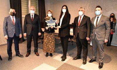Miletvekili Karaaslan başarılı Teknopark girişimcilerini ziyaret etti