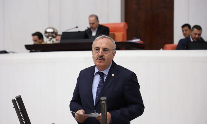 Milletvekili Yaşar Samsun'un bazı sorunlarını TBMM Kürsüsünden dile getirdi