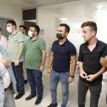 Başkan Demirtaş son mesai gününde personeli ile bayramlaştı