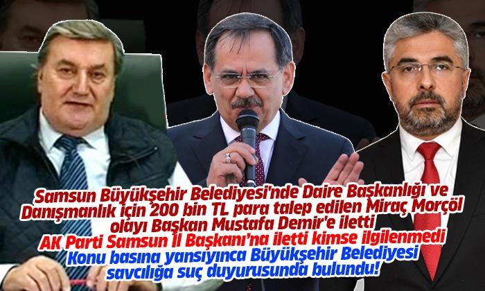 Samsun Büyükşehir Belediyesi'nden 200 Bin TL Açıklaması!