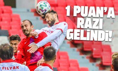 Samsunspor Altınordu maç sonucu: 1-1