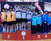Samsun Bil Koleji Türkiye Şampiyonluğunu kutladı