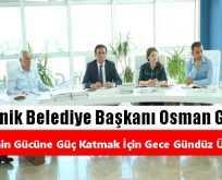 Canik Belediye Başkanı Osman Genç: Gece Gündüz Çalışıyoruz