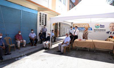 İlkadım Mahallelerinde çadır yeniden hizmette