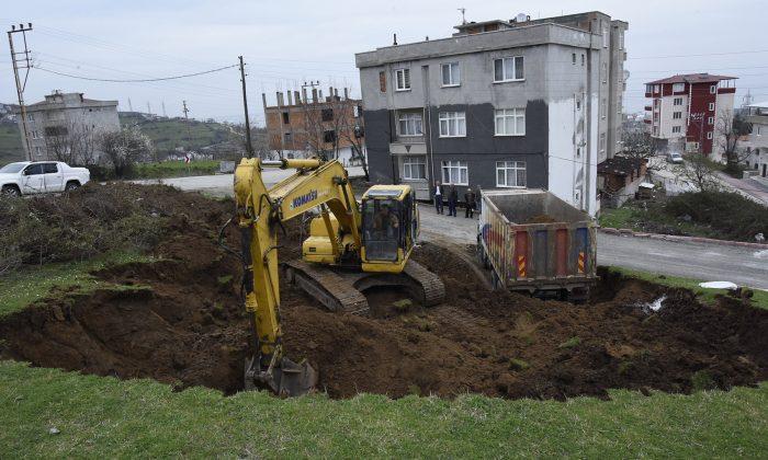Tekkeköy'ün İstiklal mahallesine Cami yapımına başlandı