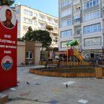 Şehit Caner Mayendağı parkı halkın kullanımına açıldı