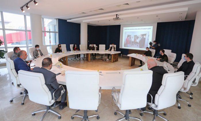 Canik'te gönüllü genç danışmanlardan ilk toplantı