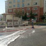 Canik Belediyesi'nin başlattığı proje ile sokaklar temizleniyor