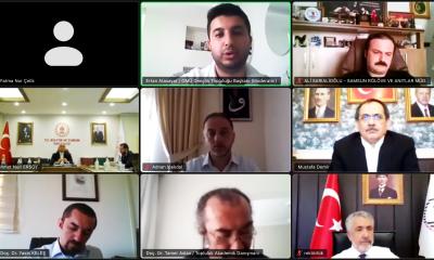Kültür ve Turizm Bakanı Ersoy canlı yayında OMÜ'lü gençlerle buluştu