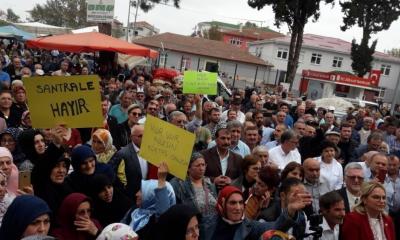 Samsun'da büyük santral protestosu