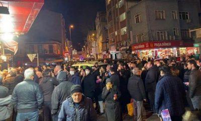 Samsun'un da sokağa çıkma yasağına vatandaşlar tepki gösterdi