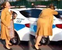 AK Partili isimden 'polise çığlık atan kadın'a dayak çağrısı!