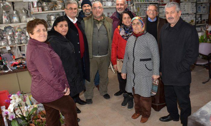 Yakakent Belediye Başkan Adayı Ramazan Şensoy'a destek
