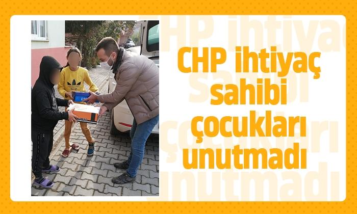 CHP ihtiyaç sahibi çocukları unutmadı