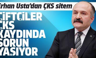 Erhan Usta'dan ÇKS sitemi