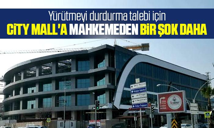 Atakum City Mall'a mahkemeden bir şok karar daha