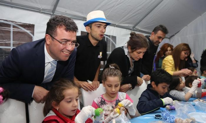 Atakum'da çocuklar mutlu