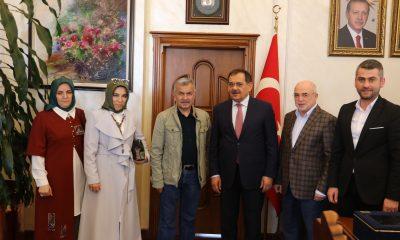 Büyük Anadolu'dan Samsun Büyükşehir Belediye Başkanı Demir'e hayırlı olsun ziyareti