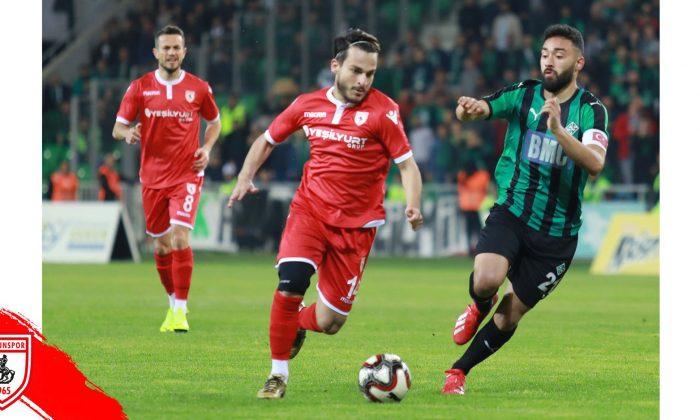 Samsunspor Sakaryaspor maç sonucu: 0-1