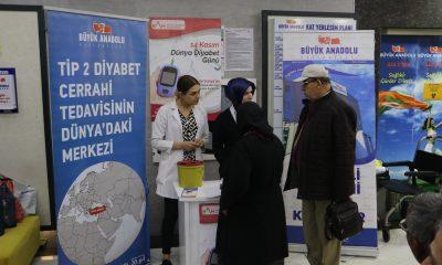 Büyük Anadolu Hastaneleri'nde 'Diyabet' farkındalığı